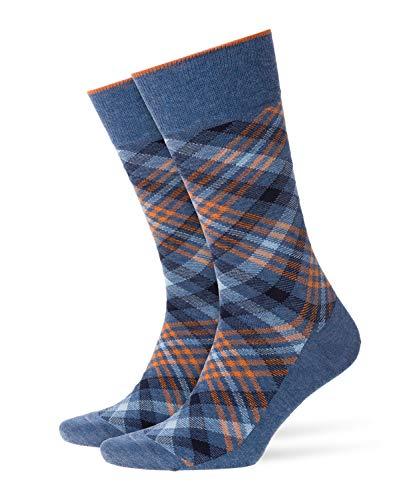 Burlington Cadogan M So Chaussettes, Bleu (Light Denim 6660), 40-46 (UK 6.5-11 Ι US 7.5-12) Homme