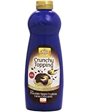 Carte D'Or - Crunchy Topping - Sirope de chocolate negro crujiente - 892 ml