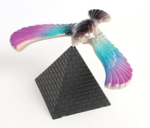 Amazing Balancing Bird with Triangle Stand - CNH (Color May Vary)