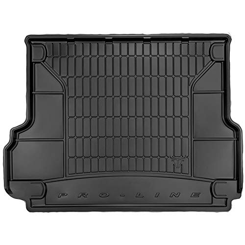 DBS Tapis de Coffre Auto - sur Mesure - Bac de Coffre pour Voiture - Rebords Surélevés - Caoutchouc Haute qualité - Antidérapant - Simple d'entretien - 1766590