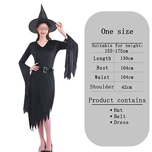 HALLOWEEN-COSTUMES Horror Heks Zwart, Vrouwen Klassieke Vintage Lange Jurk Vampier Kostuum Dracula Horror Bruid Halloween Party Fancy Dress Party Kostuum