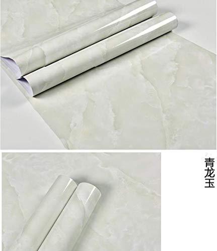 Marmor Küche Ölofen Aufkleber Pvc Renovierte Badezimmerschränke Wasserdichte Selbstklebende Tapetenmöbel 60x500cm