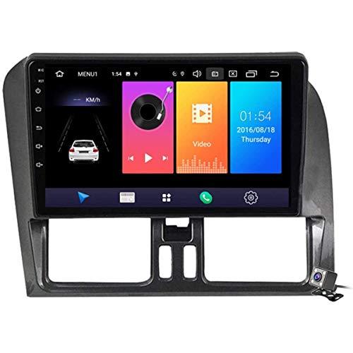 XBRMMM Pantalla Táctil De 9 Pulgadas 2 DIN Android 9.1 Estéreo para Automóvil para Volvo XC60 2009-2012 Radio con Navegación GPS Integrado DSP FM RDS Soporte Bluetooth/SWC/MirrorLink