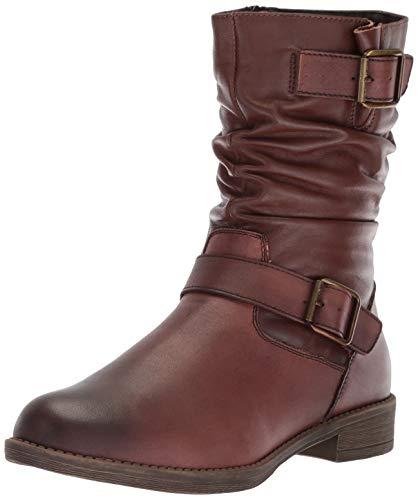 Propet Women's Tatum Slouch Mid Calf Boot brown 9.5 Medium US