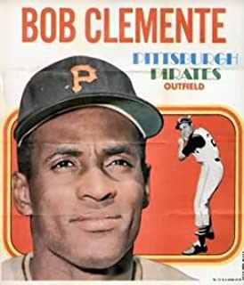 1970 Topps Posters (Baseball) card#21 Roberto Clemente of the Pittsburgh Pirates Grade Very Good