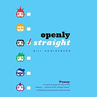 Openly Straight audiobook cover art