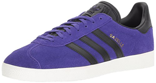 adidas Originals Gazelle Girls' Trainer, Ochre Raw/Crystal White/Cloud White, UK 6 Blue Size: 2