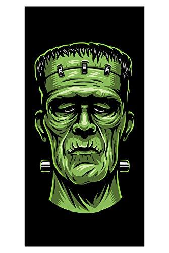 LimeWorks Badetuch, 70x140 cm, Frankenstein, Made in EU