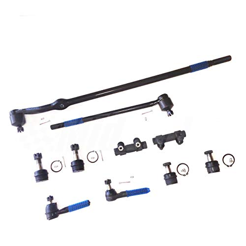 Mid Valley - 10pcs Suspension & Steering Kit Tie Rod Ends Ball Joints Center...