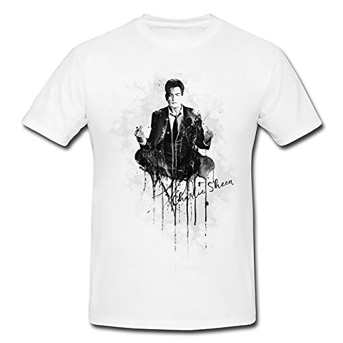 Charlie-Sheen T-Shirt Herren, Men mit stylischen Motiv von Paul Sinus