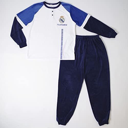 10XDIEZ Pijama niño Real Madrid 202n tondosado - Medidas Albornoces - 10