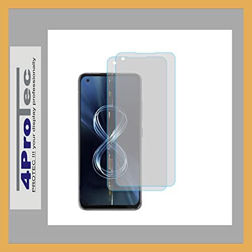 4ProTec | 2X Bildschirm-Schutz-Folie MATT für Asus ZenFone 8