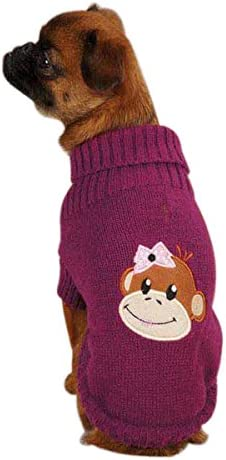 East Side Collection Acrylic Large-scale sale Sales results No. 1 Monkey XX-Sma Business Sweater Dog