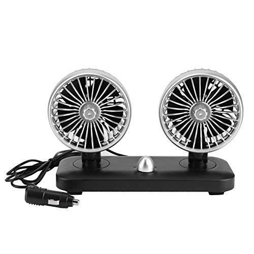Ventilador de enfriamiento para automóvil, Ventilador eléctrico universal para automóvil de 12V...