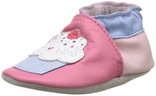 Robeez Unisex Kinder CUPE Cake Krabbelschuhe, Pink (Rose Fonce), 23/24 EU