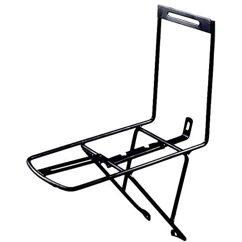 Soporte de rueda delantera Soporte de rueda delantera, Soporte delantero trasero de bicicleta Soporte universal ajustable para bicicleta, Soporte delantero de bicicleta ( Color : Black , Size : 2pcs )