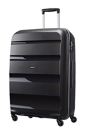 American Tourister Bon Air Dlx - Trolley Rigido (4 ruote), Nero (Black), L (75cm-91L)