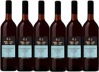 Pfaffenweiler Weinhaus Klassik Spätburgunder Rotwein Qualitätswein lieblich (6 x 0,75L)