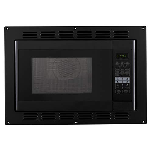 RecPro RV Convection Microwave Black 1.1 Cu. ft | 120V | Microwave | Appliances | Direct Replacement for High Pointe and Greystone
