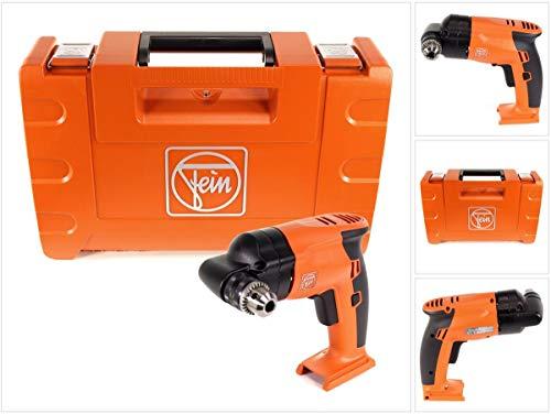 Fein 71050462000 Winkelbohrmaschine AWBP 10 Select | extrem Kleiner Akku-Winkelbohrer für Arbeiten an schwer zugänglichen Stellen, 90 W, 18 V, Orange