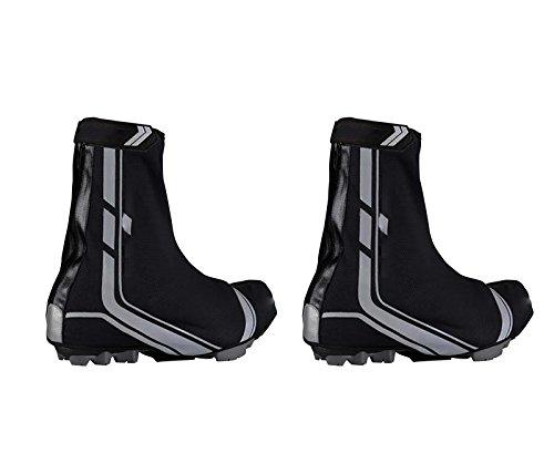 Cubre Zapatillas de Ciclismo para Pedales con calas spd Termico Waterproof Traspirable Impermeable Bicicleta MTB Talla 44 y 45 3062c