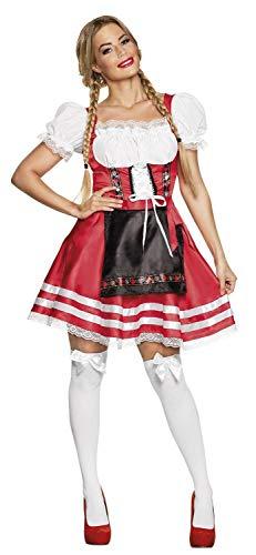 Boland Disfraz 83869adultos Helena Rojo Talla L, mujer