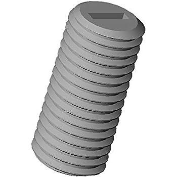 M5 x 10 Gewindestift Madenschraube Polyamid Kunststoff PA6.6 Schraube 20 Stück