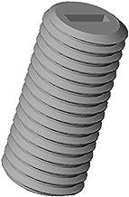 Vis t/ête frais/ée fendue nylon diam ajile M2 longueur L = 10 mm plastique polyamide PA6.6 isolant 20 pi/èces
