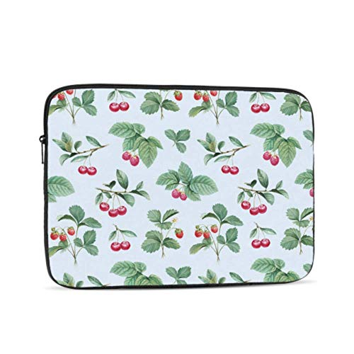 Laptop Protective Case Christmas Holly with Red Berries Decoration Macbook Pro Cases Multi-Color & Size Choices10/12/13/15/17 Inch Computer Tablet Briefcase Carrying Bag
