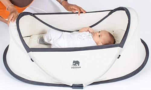 Deryan Baby-Reisebett, Khaki - 7