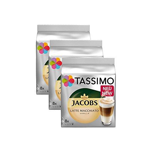Tassimo Jacobs Latte Macchiato Vanilla 3er Pack
