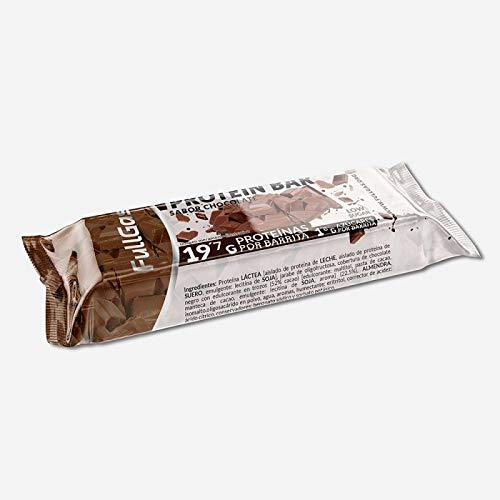FullGas - Barrita proteica LOW CARB Cookies con chocolate 60g