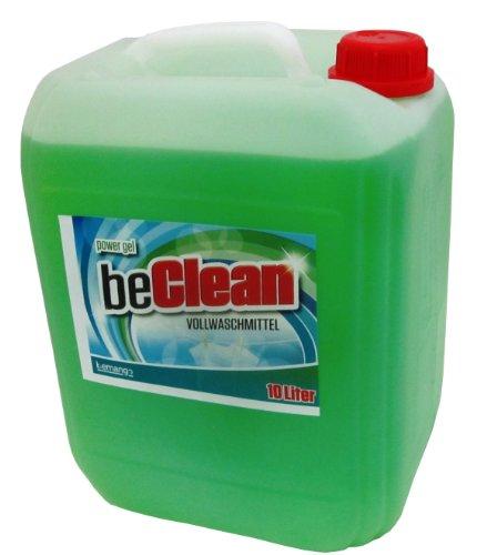 Flüssigwaschmittel beclean Power GEL 10 Liter Kanister