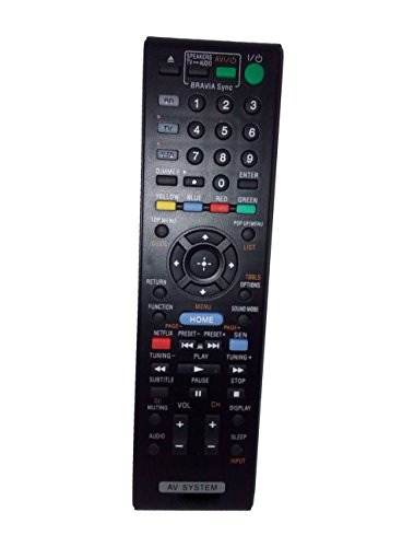 Replaced Remote Control Compatible for Sony HBDE780W RMADP070 BDV-N790W HBDN890W BD Blu-ray Disc DVD Home Theater AV System