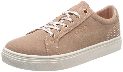 s.Oliver Damen 23620 Sneaker, pink (old rose), 37 EU