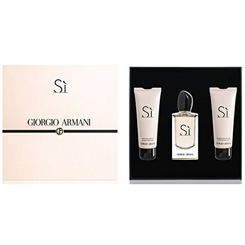 Armani Giorgio armani si set 100ml eau de parfum 75ml body lotion 75ml shower gel