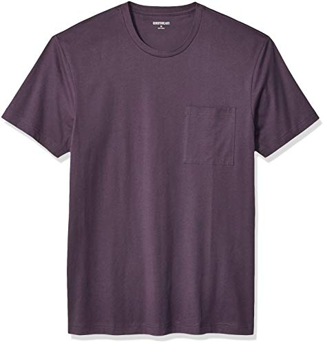 Amazon Brand - Goodthreads Men's 'The Perfect Crewneck T-Shirt' Short-Sleeve, Deep Purple, X-Large