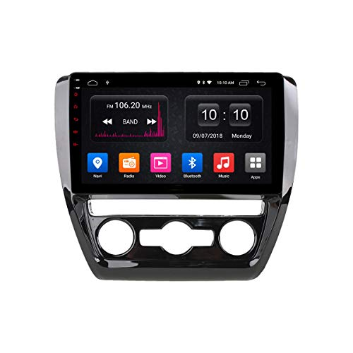Navegador GPS Estéreo para Coche Android Unidad Principal De Radio para VW Sagitar 2012-2016 Soporte Mirror Link/SWC/Bluetooth/USB/WiFi/Dab/AUX