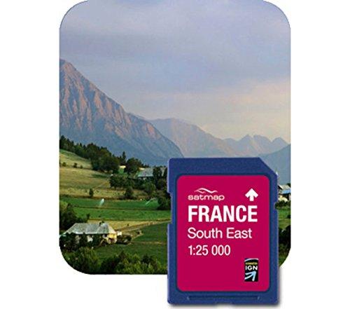 Satmap FR-CY-25-SD-005 Carte topographique pour GPS France Sud Est Echelle 1:25000