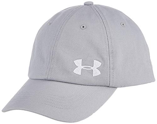 Under Armour Cotton Golf Gorra, Mujer, Gris, OSFA