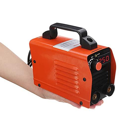 QWERTOUR 250A 220V Mini Máquina de Soldadura eléctrica Pantalla Digital portátil DC...
