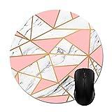 Alfombrillas de ratón Rosa Doradas de mármol Accesorios informáticos de Oficina de Moda