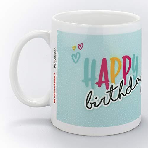 ROTPUNKT- Emmapünktchen Tasse   hochwertige Keramiktasse mit gefühlvollen Botschaften und liebenswerten Figuren   Spülmaschinengeeignet   350 ml   großer Henkel (wolkenspringer hellblau)