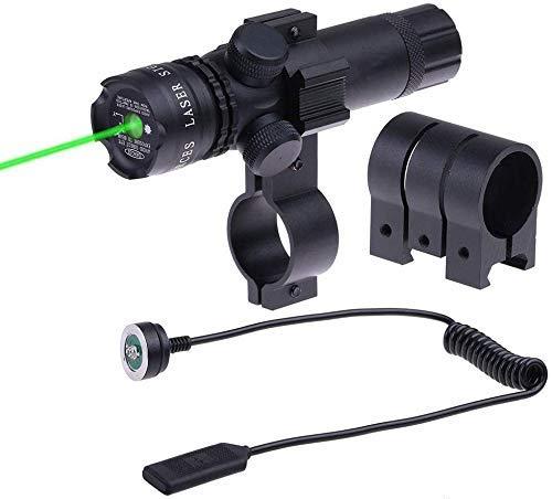 Militaire Pleine Compatibilité en Mode Ultra Bright Dot Sight Vert Portée Portée de Fusil Laser Avec le Soutien de Clamp Gratuit 18-21mm. Peut Couper le Diamètre du Tube 25mm.
