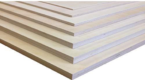 30mm Sperrholzplatten 65€/qm Multiplexplatten Sperrholz Bastelholz Laubsägearbeiten Möbelbau Modellbau Leichtbau Innenausbau (76 x 50 cm)