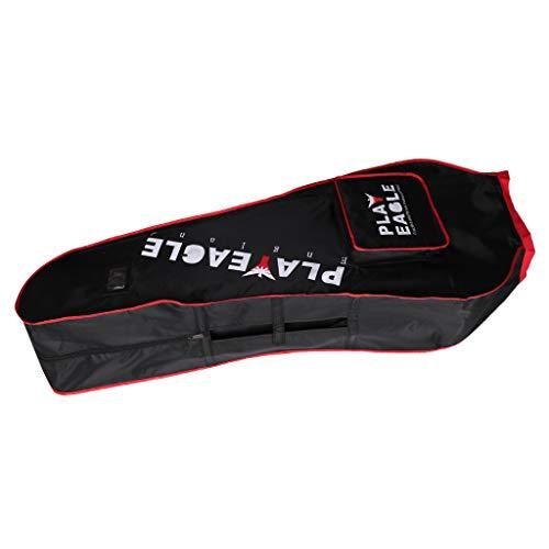 SM SunniMix Waterproof Golf Club Bag Travel Flight Transport Raincover - Black
