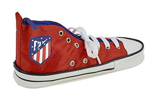 Atletico de Madrid, 24 cm, 811845500 2018 Estuches, Rojo, Unisex, Roja