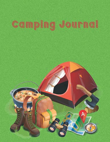 Camping Journal: Prompts By Journals Unlimited Including Ink Pen With Stylus Capture Memories,