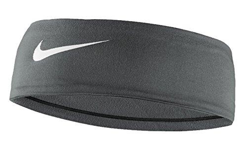 Women's Nike Fury Headband 2.0 Cool Grey/White Size One Size