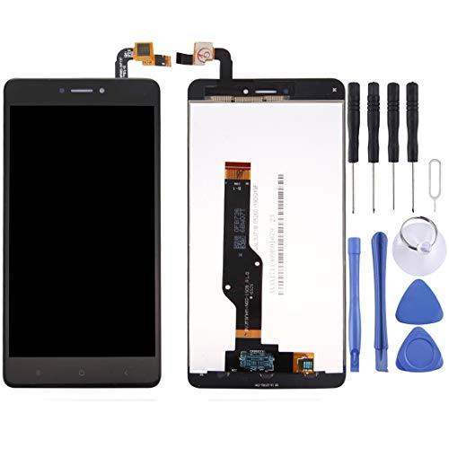 Dmtrab para Pantalla LCD reemplazo for Xiaomi redmi Nota 4X / redmi Nota 4 Global Versión Snapdragon 625 Pantalla LCD y digitalizador Asamblea Completa (Negro) Reemplazo De Pantalla LCD
